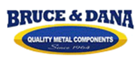bruce and dana quality metal components logo
