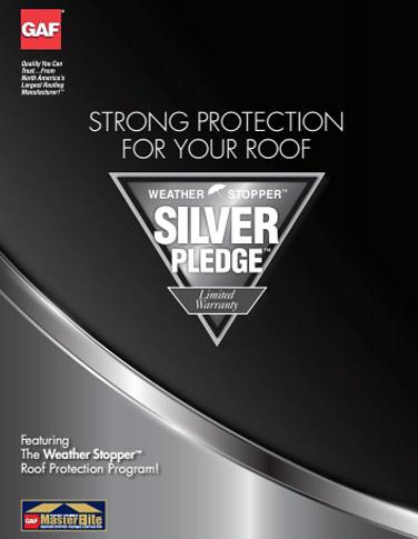 silver pledge warranty flyer